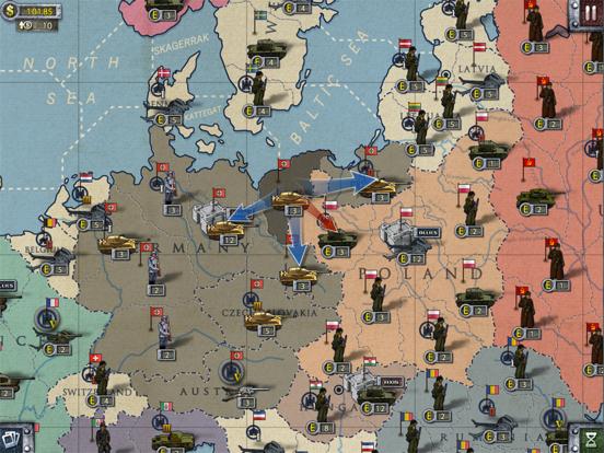European War 2 for iPad на iPad