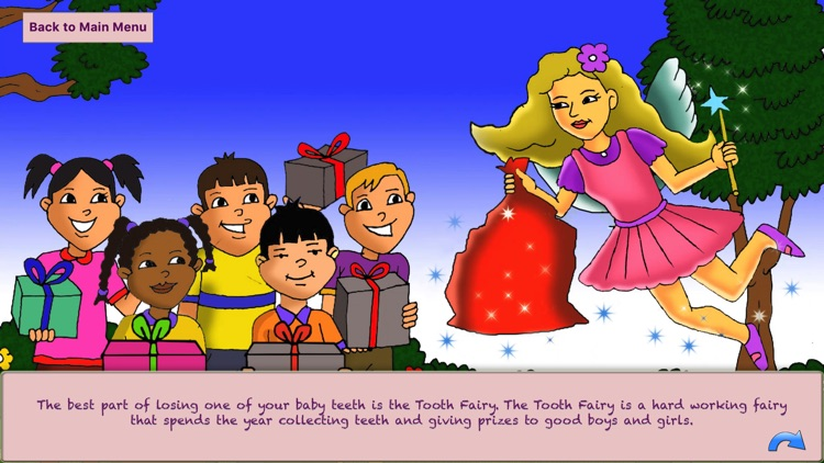 Tooth Fairy Spin and Win Game