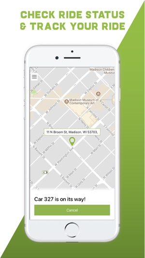 Green Cab Madison >> Ride Green Cab Madison On The App Store