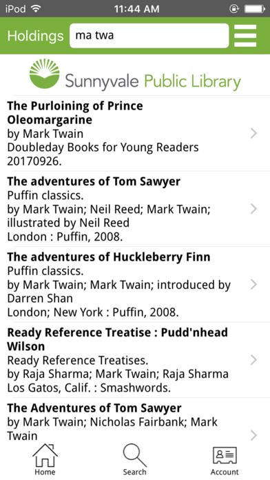 Sunnyvale Public LibraryScreenshot of 2