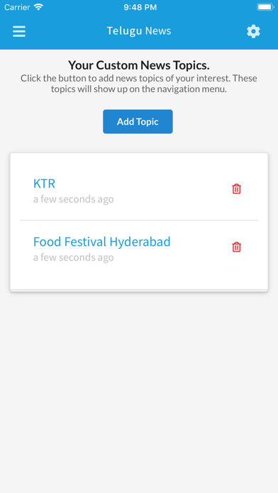 Touch Telugu News screenshot four