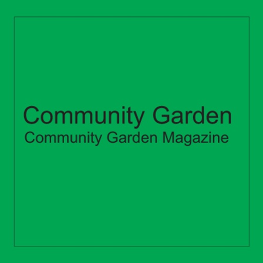 Community Garden Magazine icon