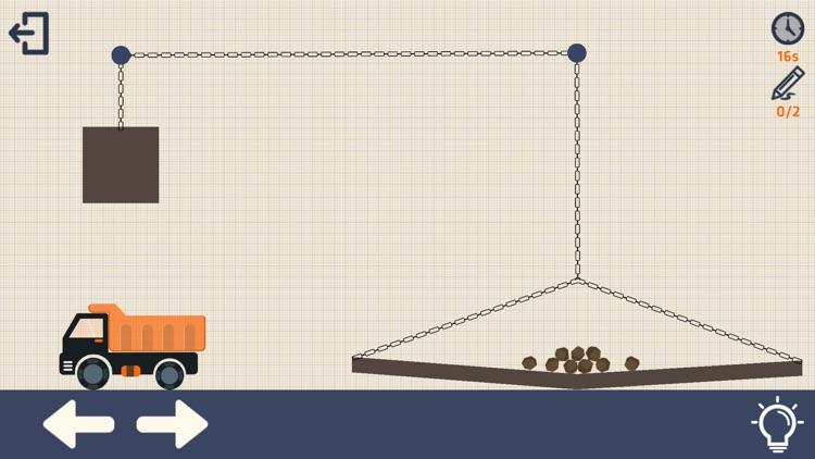 Crayon Physics with Truck screenshot-3