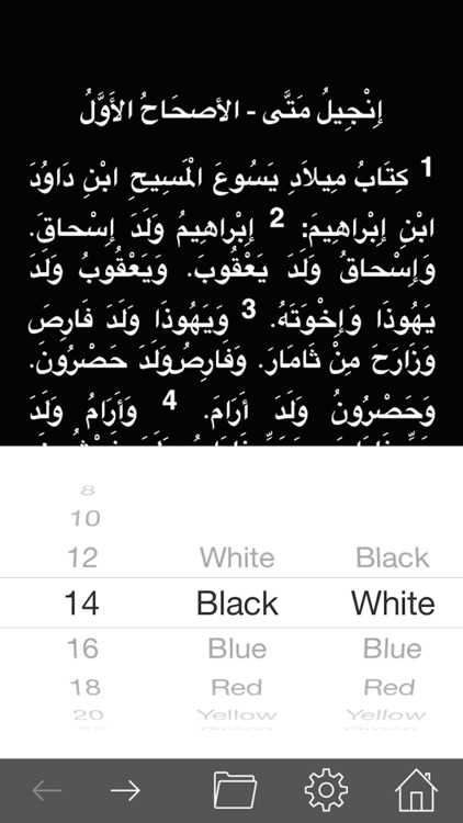 Arabic Holy Bible HD Lite screenshot-4