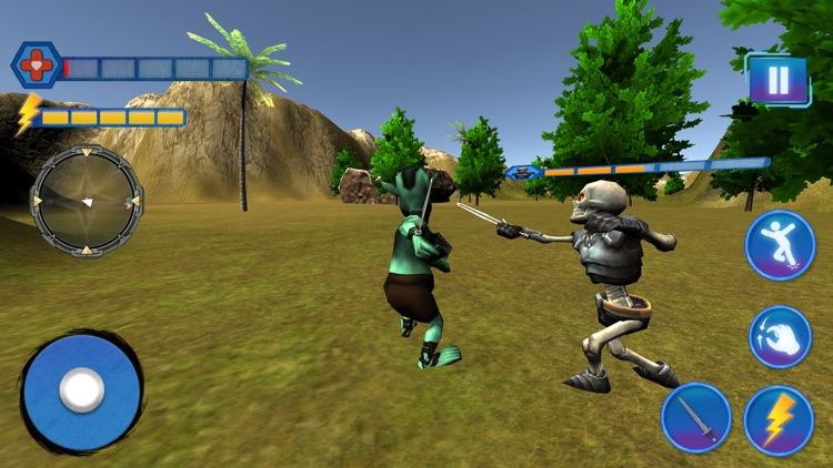 Grand Alien Battle 3D screenshot-4
