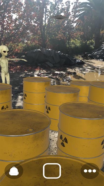 Augmented Reality UFO Stickers screenshot-5