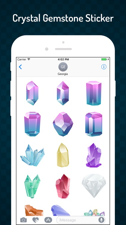 Gemstone & Crystal Stickers