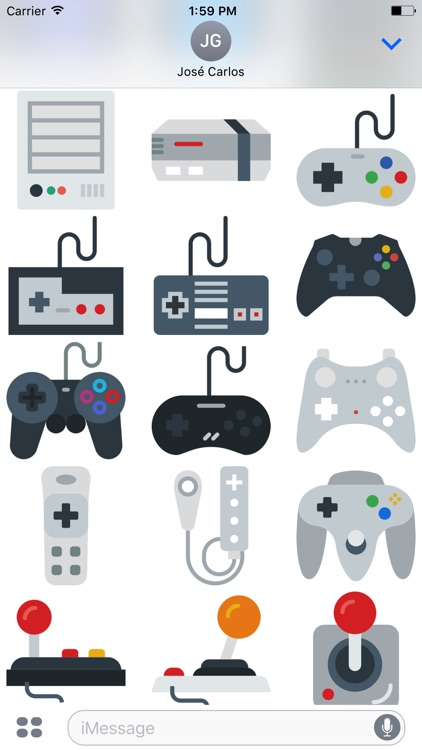 Gamer Sticker Pack for iMessage