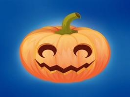 Pumpkin emoji sticker