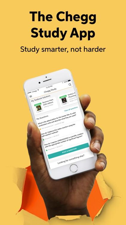 Chegg Study screenshot-0