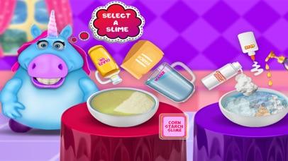 Mr. Fat Unicorn Slime Making screenshot 2