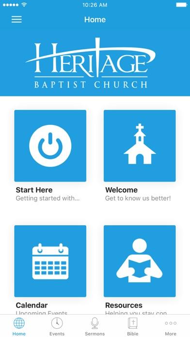 Heritage Baptist - Woodbridge screenshot 1