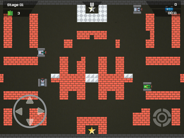 Block Tank Battle Classic, game for IOS