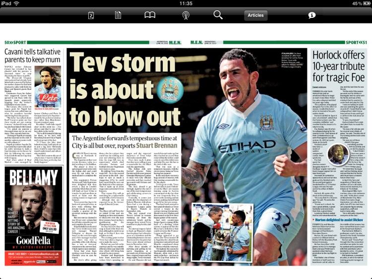 Manchester Evening News (iPad) screenshot-3