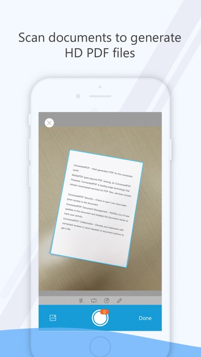 Foxit MobilePDF Business Screenshots