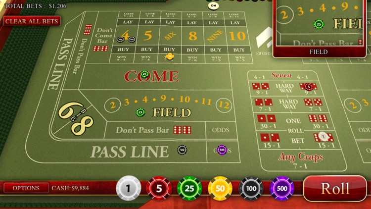 Craps Master 3D screenshot-1