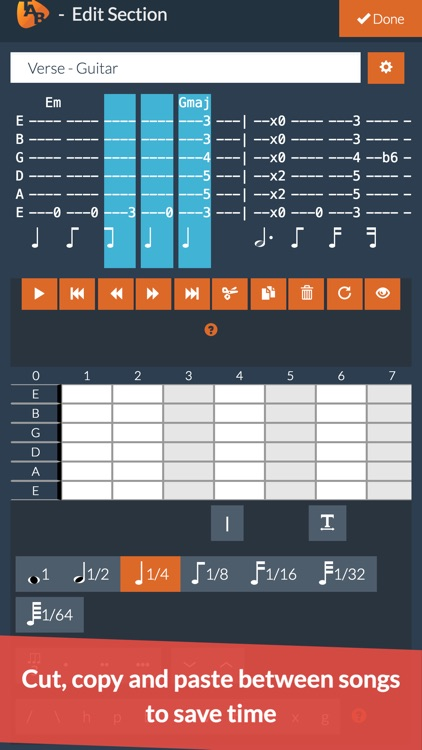 Guitar Notepad - Tab Editor screenshot-6