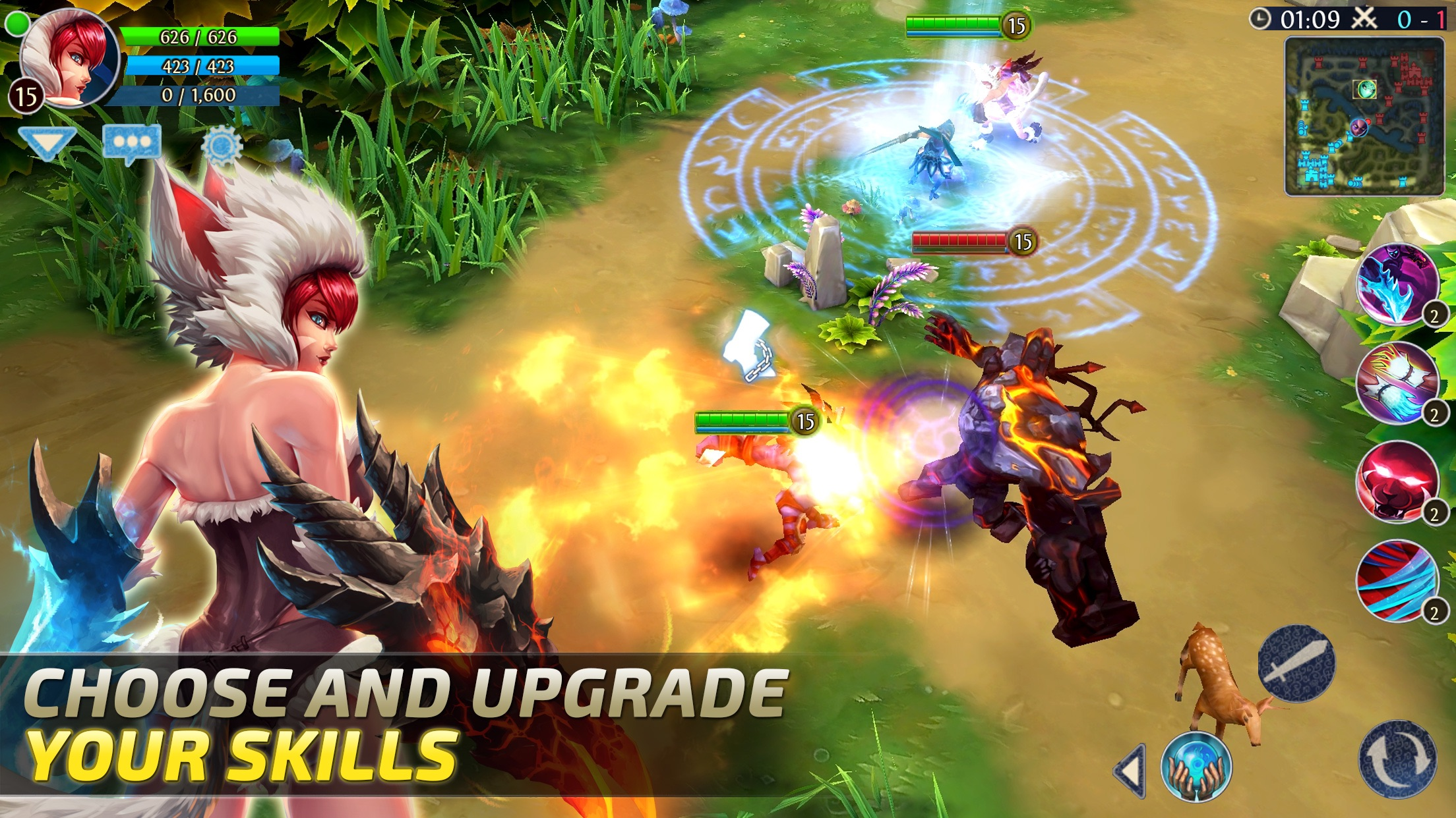 Heroes of Order & Chaos - Multiplayer Online Game Screenshot