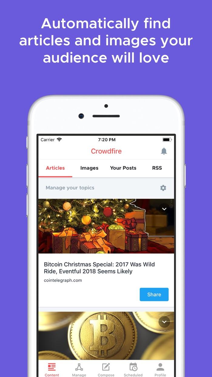 Crowdfire Screenshot