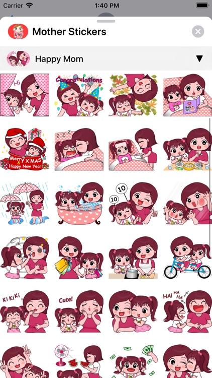 Mother Stickers screenshot-7