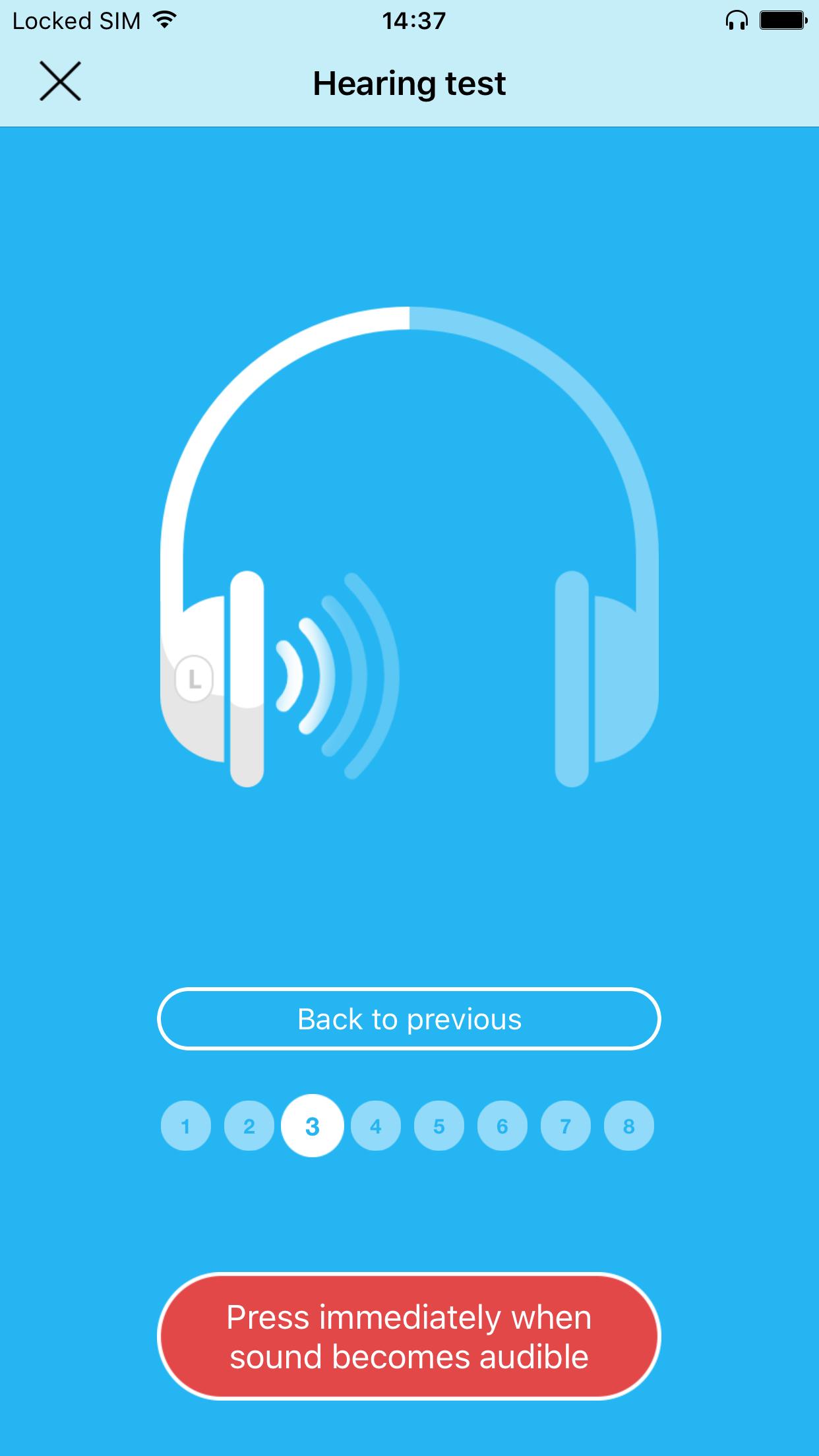 Petralex Hearing aid Screenshot