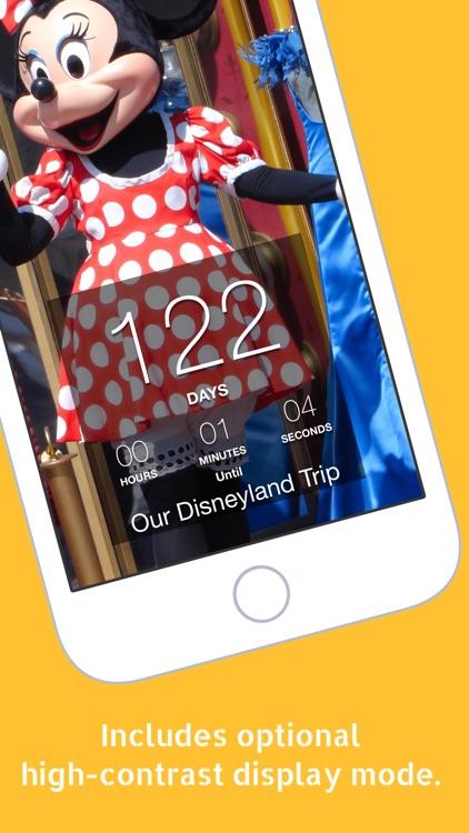 Trip Countdown for Disneyland screenshot-3