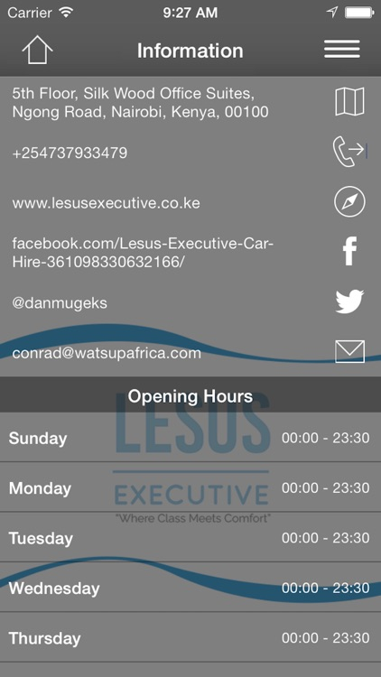 Lesus Executive Car Hire By Watsupafrica Limited