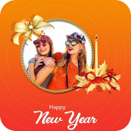 Happy New Year - Photo Frame
