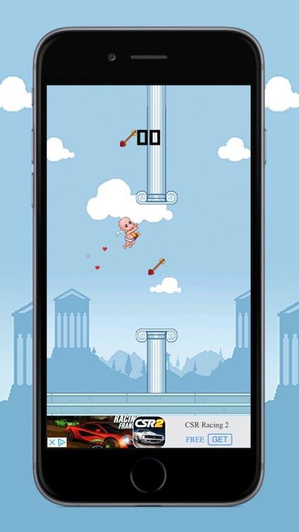 Baby Cupid - A Flappy Game