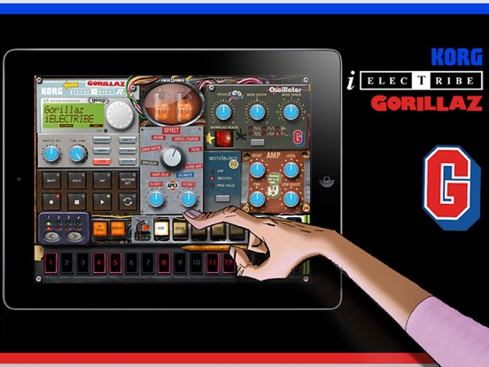 Screenshot #4 pour iELECTRIBE Gorillaz Edition