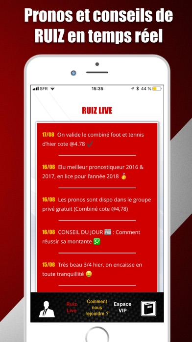 download Ruiz Pronos apps 0