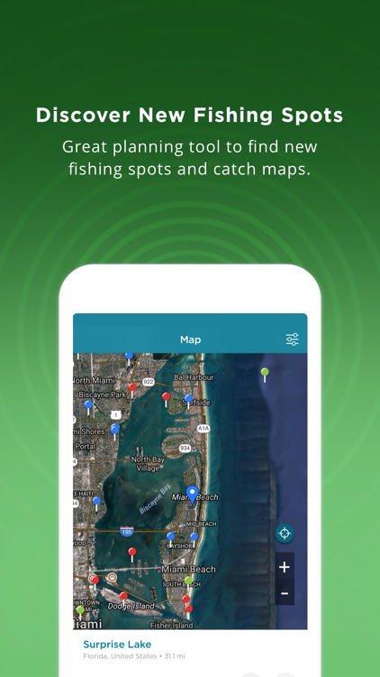 Fishing Spots - Angling Map