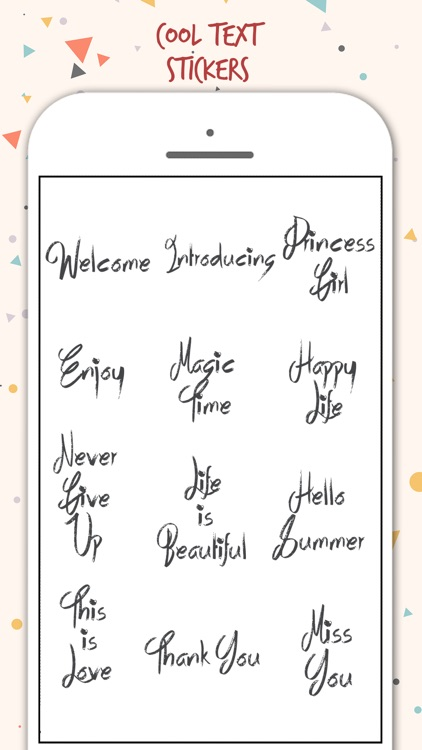Typography Stickers screenshot-2