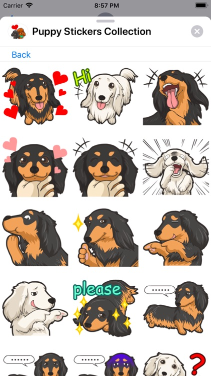Puppy Stickers Collection screenshot-6