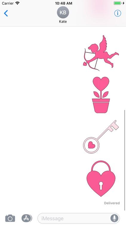 Valentine Sticker