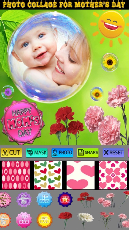 Happy Mother's Day Collage