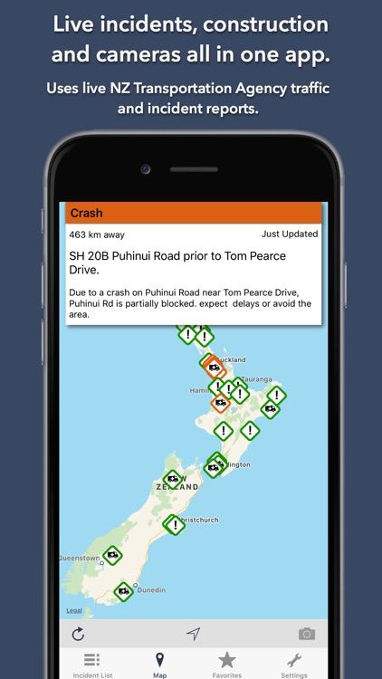 NZ Roads Traffic & Cameras screenshot-0