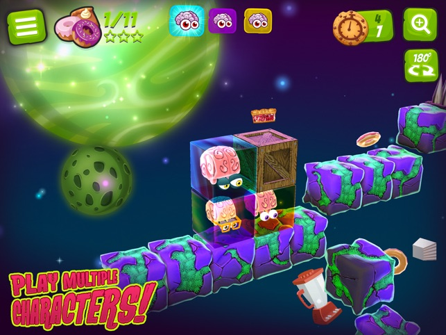‎Alien Jelly: Food For Thought Screenshot