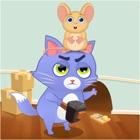 Crazy Cat V/S Mouse escape icon