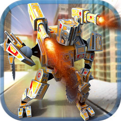 Epic Robot City Fighting
