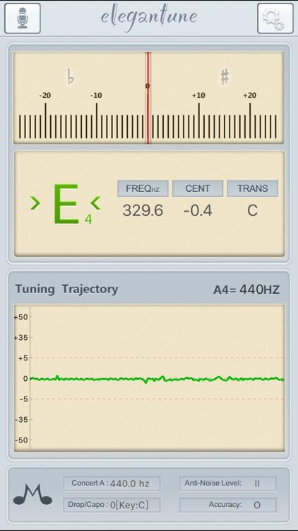 Elegantune Chromatic Tuner Pro