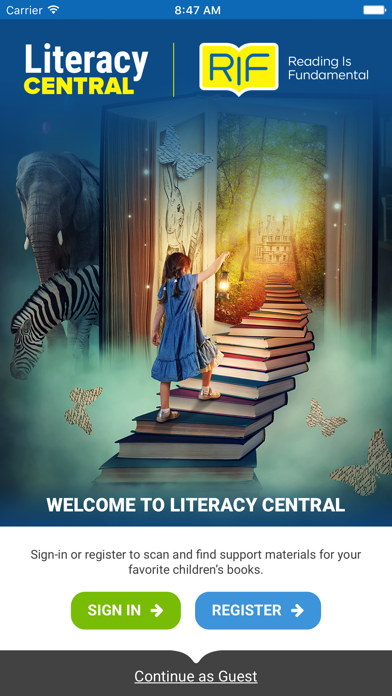 Literacy Central screenshot one