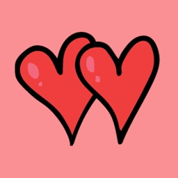 Hand drawn valentines day