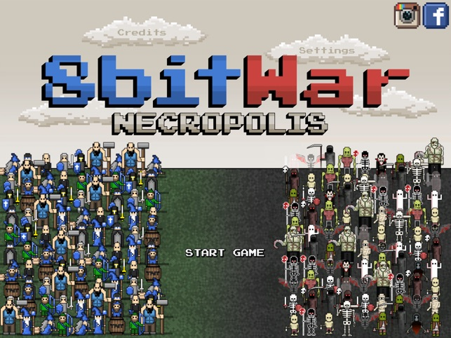8bitWar: Necropolis Screenshot