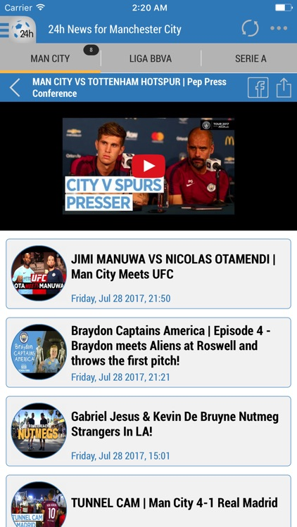 24h News for Manchester City screenshot-4
