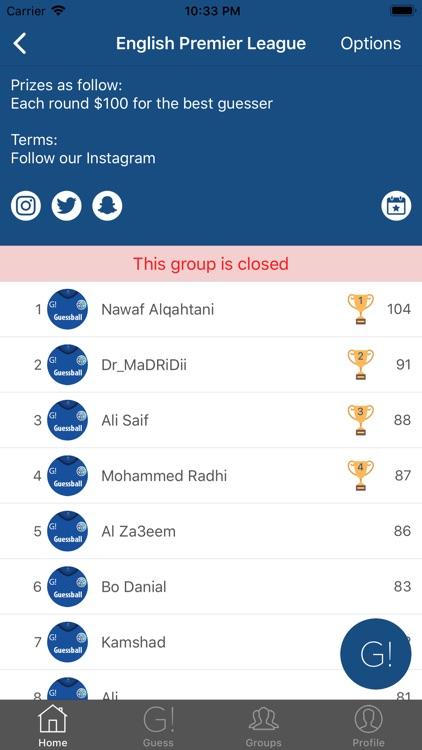 Guessball App screenshot-3