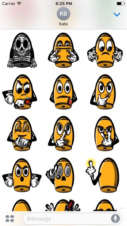 Bullet Joe Stickers
