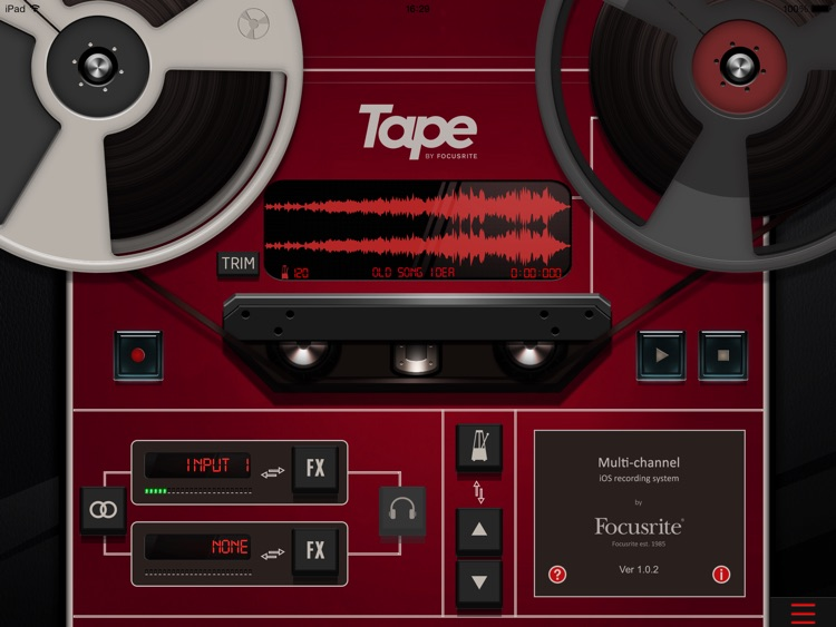 Tape by Focusrite