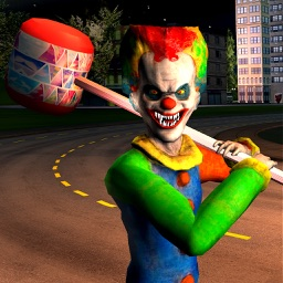 Scary Clown Crazy Game