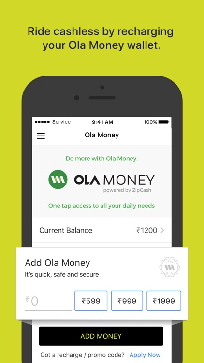 Ola Cabs - Book Taxi & Auto screenshot-5